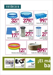 Comprar piscina rectangular ofertas precios y cat logos for Verdecora madrid