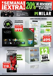 Ofertas de Smart tv led  en el folleto de Milar