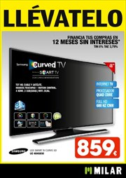 Ofertas de Smart tv  en el folleto de Milar