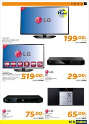 Ofertas de Smart tv  en el folleto de Makro