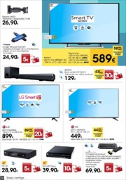 Ofertas de Smart tv  en el folleto de Eroski