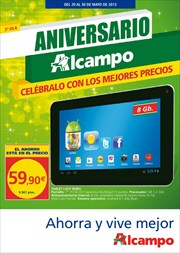 Ofertas de Tablet  en el folleto de Alcampo