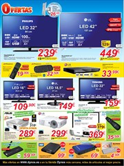 Ofertas de Tv led  en el folleto de Dynos Informática