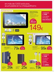 Ofertas de IPad  en el folleto de Carrefour