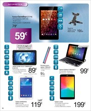 Ofertas de Tablet Samsung  en el folleto de Carrefour