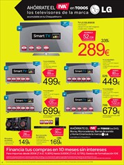 Ofertas de Smart tv led  en el folleto de Carrefour