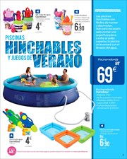 Comprar piscina hinchable ofertas precios y cat logos for Carrefour piscina hinchable