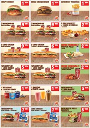 Ofertas de Bocadelia  en el folleto de Burger King