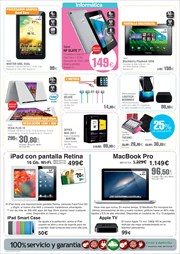 Ofertas de Apple  en el folleto de El Corte Ingls