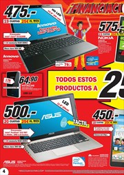 Ofertas de PC portátil  en el folleto de Media Markt