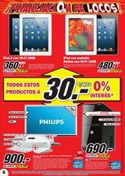 Ofertas de IPad  en el folleto de Media Markt