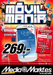 Ofertas de Samsung Galaxy S3  en el folleto de Media Markt