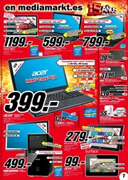 Ofertas de Notebook  en el folleto de Media Markt