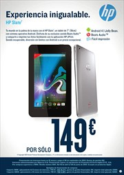 Ofertas de Tablet  en el folleto de Hipercor