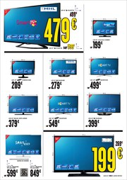 Ofertas de Smart tv led  en el folleto de Hipercor