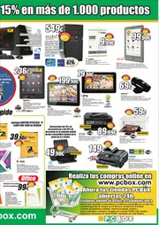 Ofertas de Tablet  en el folleto de PCBox
