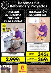 Ofertas de Calentador gas butano  en el folleto de BriCor