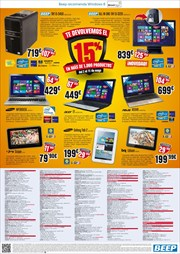 Ofertas de Tablet  en el folleto de Beep