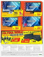Ofertas de Tv led  en el folleto de Conforama