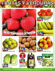Ofertas de Fresones  en el folleto de Supermercados Plaza