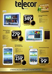 Ofertas de Tablet Samsung  en el folleto de Telecor