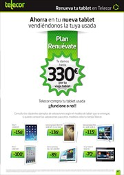 Ofertas de IPad 3  en el folleto de Telecor