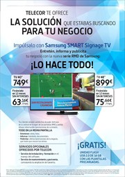 Ofertas de Smart tv led  en el folleto de Telecor