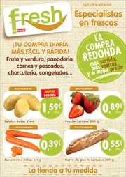 Ofertas de Fresones  en el folleto de Dia Fresh