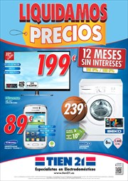Ofertas de Smart tv  en el folleto de Tien 21