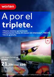 Ofertas de Smart tv  en el folleto de Worten