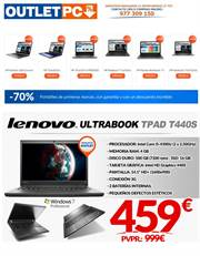 Ofertas de Notebook  en el folleto de Outlet PC