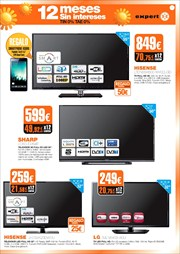 Ofertas de Tv led  en el folleto de Expert