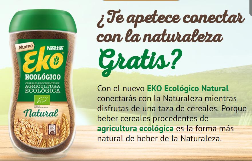 Prueba EKO Ecológico Natural - GRATIS