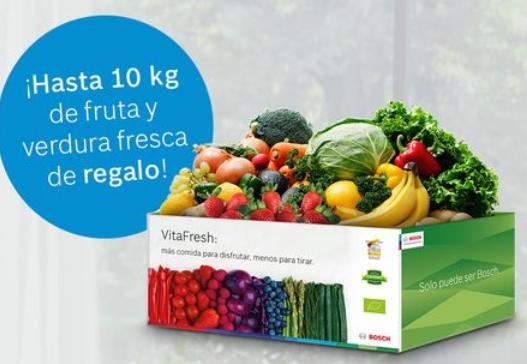¡Compra un frigorífico VitaFresh y te lo llenamos gratis de fruta fresca!