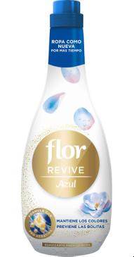 Flor Revive Azul. Suavizante con Pro Keratina