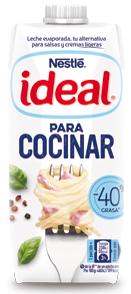 1.00 de reembolso en Nestlé ideal -40% grasa 525g de NESTLÉ IDEAL