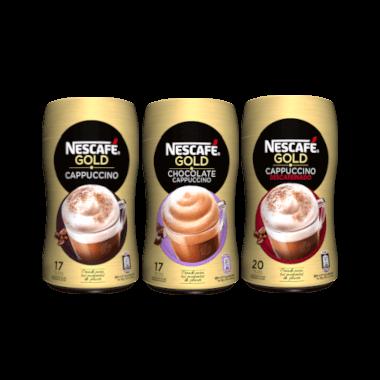 1.00 de reembolso en Nescafé Gold Capuccino Natural 250g de Nescafé Gold