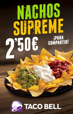 Ofertas de Taco Bell  en el folleto de Madrid