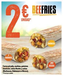 Ofertas de Carne picada en Taco Bell