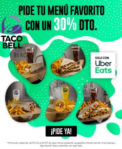 Catálogo Taco Bell ( Caduca mañana)
