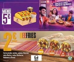 Catálogo Taco Bell ( 22 días más)