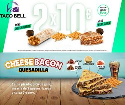 Catálogo Taco Bell ( 10 días más)