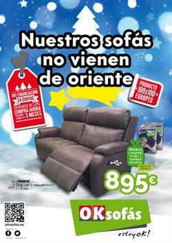 Ofertas de Hogar y muebles  en el folleto de OKSofas en Alcalá de Henares
