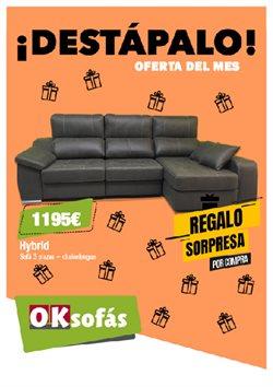 Ofertas de Sofás  en el folleto de OKSofas en Motril