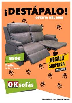 Ofertas de Sofás  en el folleto de OKSofas en Velez