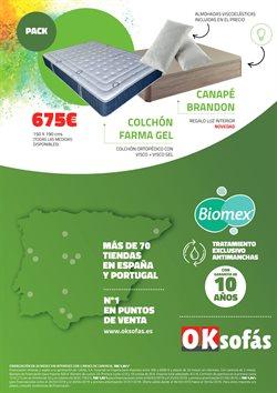 Ofertas de Canapé  en el folleto de OKSofas en Madrid
