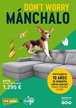 Ofertas de Hogar y muebles  en el folleto de OKSofas en Madrid