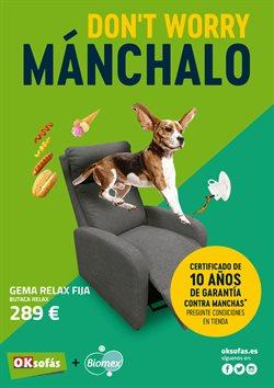 Ofertas de Hogar y muebles  en el folleto de OKSofas en Palma de Mallorca
