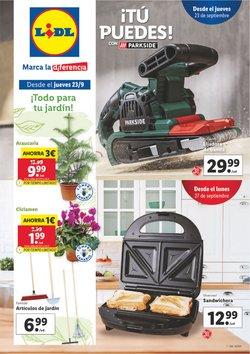 Ofertas de Jardín y Bricolaje en el catálogo de Lidl ( 3 días más)