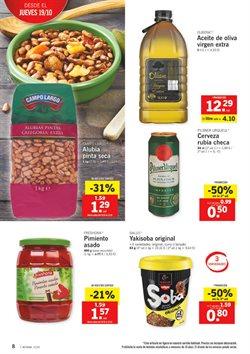 Ofertas de Arroz, pasta y legumbres  en el folleto de Lidl en Zamora